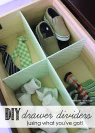 diy drawer dividers using what you got the homes have made diy drawer dividers