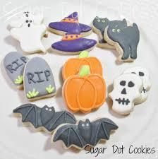 sugar dot cookies halloween sugar cookies with royal icing