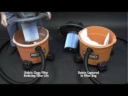 home depot black friday 2017 ridgid vac ridgid high efficiency dust bags for 12 gal to 16 gal ridgid wet
