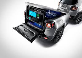 mopar jeep accessories jeep renegade hard steel show car unveiled at the geneva motor