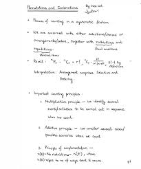a level mathematics notes permutations and combinations