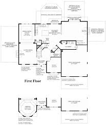 Georgian Floor Plan by Ridings At Cream Ridge The Columbia Ii Home Design
