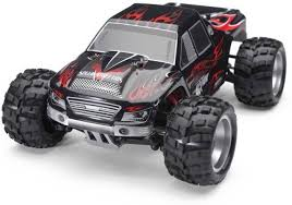 rc monster jam trucks wltoys rc monster truck 4wd 1 18 scale big size upto 50 kmph with
