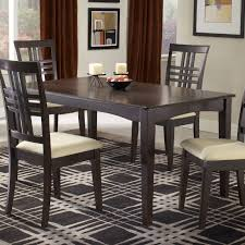 rectangle dining room sets hillsdale tiburon casual dining table in dark brown espresso