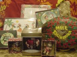 christmas gifts from hawaii hawaiian christmas cards christmas