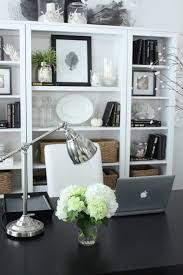 Pretty Desk Chairs Dining Room To Dedicated Home Office Transformation Starfish Cottage