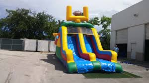 backyard sports obstacle course south florida bounce