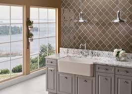 white corner kitchen sink decor