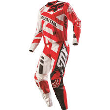 fox motocross suit fox racing 2016 360 honda jersey and pant package red available