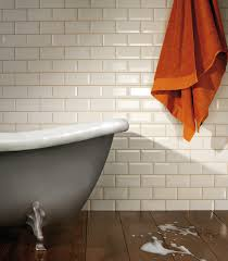 Cream Gloss Kitchen Tile Ideas by Kitchen Wall Tiles The Classic Collection Metro Cream 7 5x15