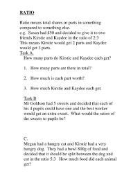ratio worksheets for ks2 and ks3 by goldson1 teaching resources
