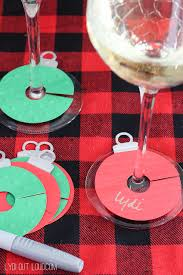 diy wine gift bags u0026 charms lydi out loud