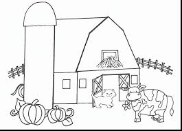 astonishing farm and tractor coloring pages with farm coloring