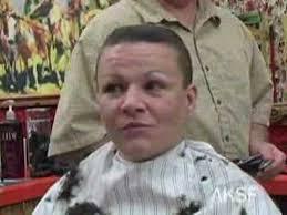 barber haircuts for women samantha s barbershop flat top and buzzcut haircuts teaser youtube