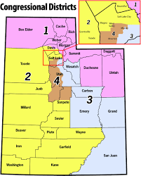 Utah Counties Map Misty Snow To Run For Chris Stewarts U0027 Congressional Seat