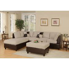 Sectional Couch With Ottoman by Furniture Gray Modular Sectional Sofa With Ikea Ottoman And Ikea
