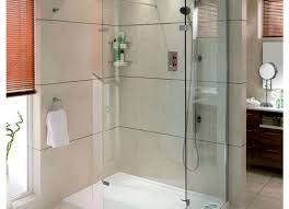 shower beautiful walk in shower tray showy glass shower doors