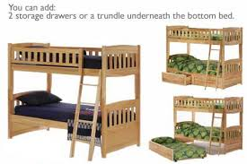 White Kids Bunk Bed Cinnamon Twin Over Twin Bunk The Futon Shop - Kids wooden bunk beds