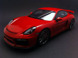 Porsche 911 Gt4 - cayman gt4 2015 red 1 18 gt spirit wax02100007
