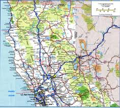 State Map Of California by Northern California Road Map California Map