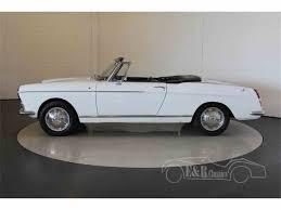 peugeot convertible 1968 peugeot 404 cabriolet for sale classiccars com cc 998054