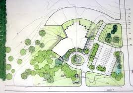 building site plan proposed site plan including improved parking circular drive