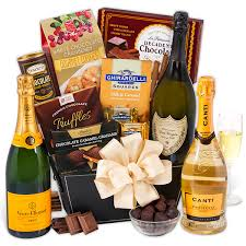 gourmet gift baskets dom perignon gift basket by gourmetgiftbaskets