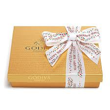 birthday ribbon assorted chocolate gold gift box happy birthday ribbon 19 pc