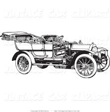 vintage cars clipart royalty free stock vintage car designs of convertible cars