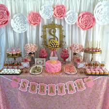 pink baby shower pink and gold baby shower baby shower party ideas photo 1 of 7