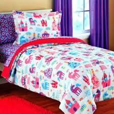 Bed Set Walmart Kidz Mix Unicorn 6 Piece Bed In A Bag Bedding Set Walmart Com