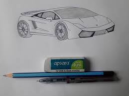 how to draw a car 6 steps with pictures wikihow