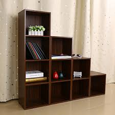 furniture home large wooden bookcases solid wood bookshelves