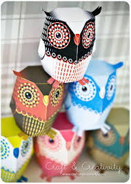 paper owl template from craft u0026 creativity craft ideas some
