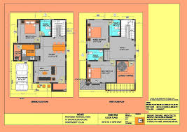 Small Duplex Plans Clever Design Duplex House Plans For 20x40 Site East Facing 13 30