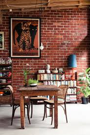 brick wall design elegant modern and classy interiors with brick walls exposed