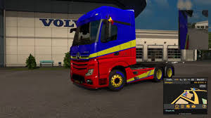 Car Window Flags Euro Truck Simulator 2 National Window Flags Dlc Free Youtube