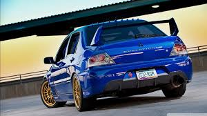 mitsubishi blue lancer evolution blue 4k hd desktop wallpaper for 4k ultra hd