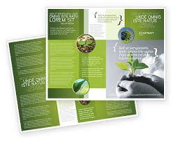 new sprout brochure template design and layout download now