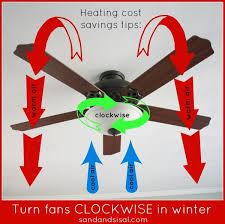 what direction for ceiling fan in winter ceiling fan direction for winter tips fans winter and sisal