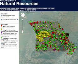 Mo Map Interactive Map Of Hazardous Waste Sites Mogreenstats