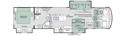Rv Floor Plans Class A Challenger Thor Motor Coach Oman Motor Homes Oman Motor Homes