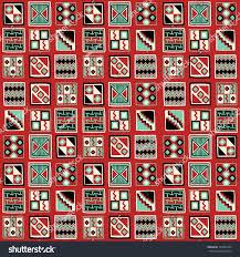 seamless background peruvian ornaments stock vector 149957444