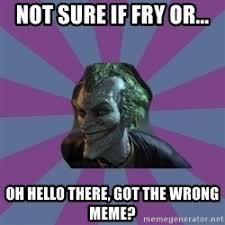 Joker Meme Generator - not sure if meme generator social media la