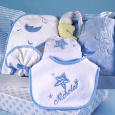 moon personalized layette baby boy gift