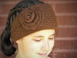 ear warmer headband knit ear warmer pattern with flower crochet ashlee