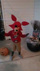 foxy costume diy home made foxy fnaf five nights at freddys costume light up