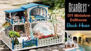diy miniature dollhouse kit beach house