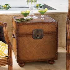 Tommy Bahama Island Estate East Cove Square Wood Trunk Hayneedle - Tommy bahama style furniture