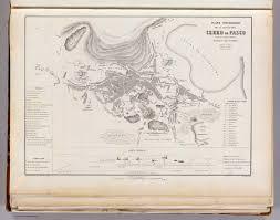 Plano Map Plano Topografico Ciudad Del Cerro De Pasco David Rumsey